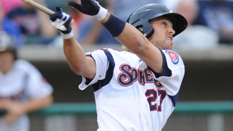 Outfielder Brett Jackson was tied for second on the Smokies with six triples.