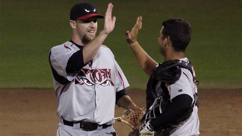 Kevin Quackenbush had 70 strikeouts and 27 saves in 52 games in 2012.