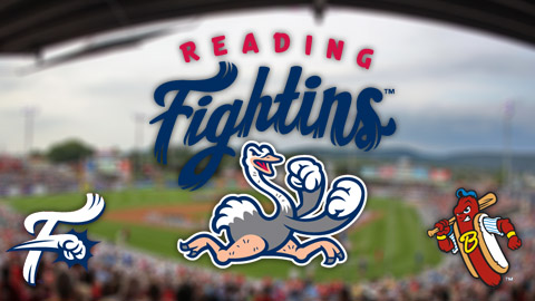 Reading's ostrich logo pays homage to the team's Crazy Hot Dog Vendor.