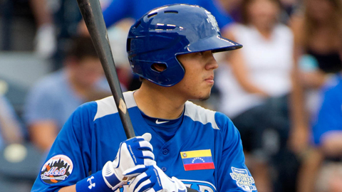 Wilmer Flores played in his second All-Star Futures Game in 2012.
